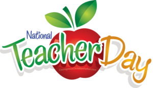 Happy Teachers Day PNG File PNG Clip art