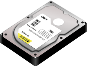 Hard Disk Drive PNG Picture PNG Clip art