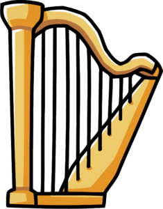 Harp PNG Pic PNG Clip art
