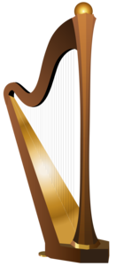 Harp PNG Transparent Image PNG Clip art