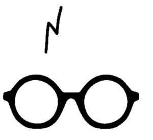 Harry Potter Glasses PNG Image PNG clipart