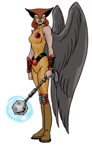 Hawkgirl PNG Image PNG Clip art