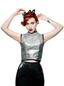 Hayley Williams Transparent Background PNG icon