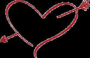 Heart Cupid Arrow PNG Clipart PNG Clip art