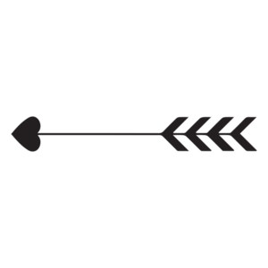 Heart Cupid Arrow PNG File PNG Clip art