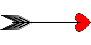 Heart Cupid Arrow PNG Transparent Image PNG Clip art