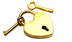 Heart Key Background PNG PNG Clip art