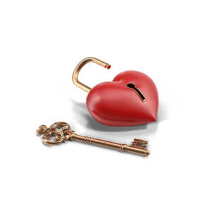 Heart Key PNG HD PNG Clip art