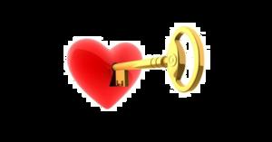 Heart Key Transparent Images PNG PNG Clip art