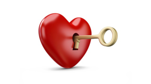 Heart Key Transparent PNG PNG image