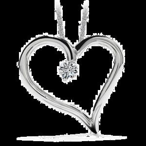 Heart Necklace Transparent PNG PNG Clip art