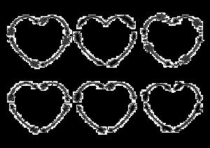 Heart Tribal Arrow PNG File PNG Clip art