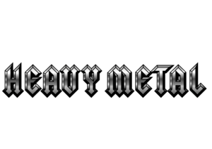 Heavy Metal PNG Transparent Background PNG Clip art