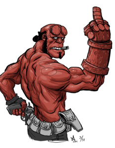 Hellboy PNG Free Download PNG icons