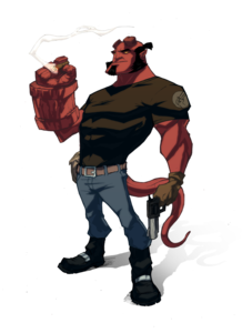Hellboy PNG Picture PNG Clip art
