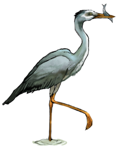 Heron PNG Transparent PNG icon