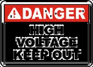 High Voltage Sign PNG Free Download PNG Clip art