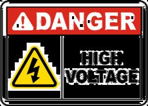 High Voltage Sign PNG HD PNG Clip art