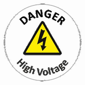High Voltage Sign PNG Image PNG Clip art