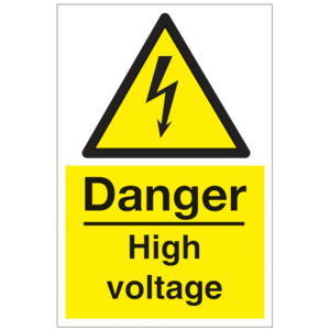 High Voltage Sign PNG Photos PNG Clip art