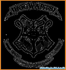 Hogwarts Logo PNG Transparent Background PNG Clip art