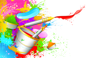 Holi Color Background PNG Pic PNG Clip art