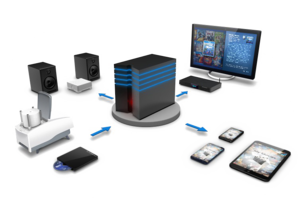 Home Server PNG Image PNG Clip art