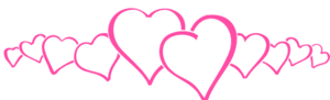 Hot Pink Heart PNG Clipart PNG image