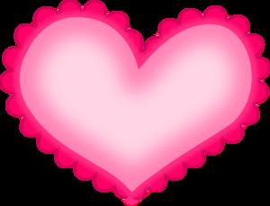 Hot Pink Heart PNG HD PNG Clip art