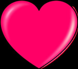 Hot Pink Heart Transparent PNG PNG Clip art