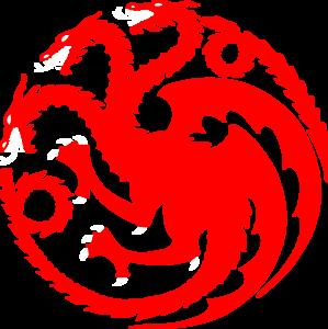 House Targaryen PNG File PNG Clip art