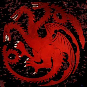 House Targaryen PNG Image PNG Clip art
