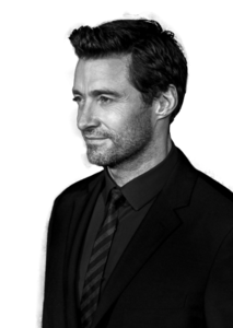 Hugh Jackman Transparent Background PNG Clip art