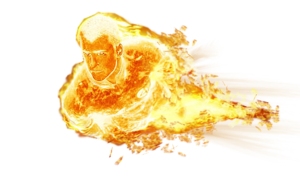 Human Torch PNG Free Download PNG icons