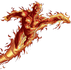 Human Torch PNG Photo PNG Clip art