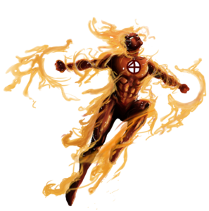 Human Torch PNG Photos Clip art