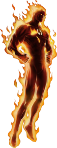 Human Torch PNG Pic PNG Clip art