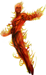 Human Torch PNG Picture PNG Clip art