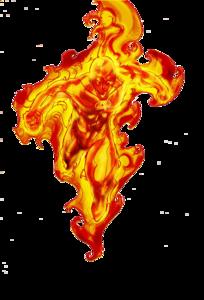 Human Torch PNG Transparent Image PNG Clip art