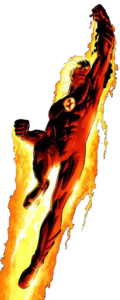 Human Torch PNG Transparent Picture PNG icons