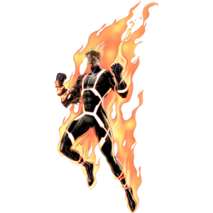 Human Torch Transparent Background PNG Clip art