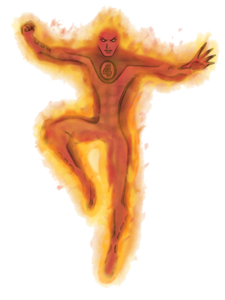 Human Torch Transparent PNG PNG icon