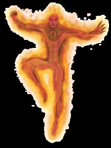 Human Torch Transparent PNG PNG Clip art