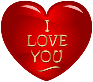 I Love You Background PNG PNG Clip art