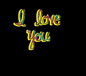 I Love You PNG HD PNG Clip art