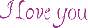 I Love You PNG Photo PNG Clip art