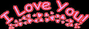 I Love You Transparent PNG PNG Clip art