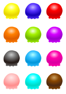 Ice Cream Balls Transparent PNG PNG Clip art