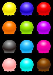 Ice Cream Balls Transparent PNG PNG image