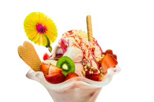 Ice Cream Sundae PNG Pic PNG Clip art